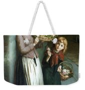 Flower Girls A Summer Night Weekender Tote Bag
