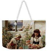 Flower Girls Weekender Tote Bag