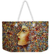 Flower Goddess. Weekender Tote Bag