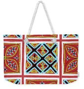 Flower Hmong Embroidery 01 Weekender Tote Bag