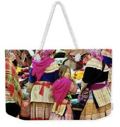 Flower Hmong Girl 01 Weekender Tote Bag