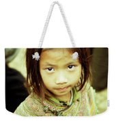 Flower Hmong Girl 02 Weekender Tote Bag