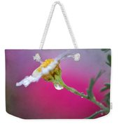 Flower In Purple Weekender Tote Bag