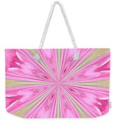 Flower Kaleidoscope Weekender Tote Bag