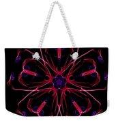 Flower Love Weekender Tote Bag