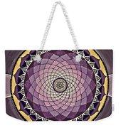 Flower Mandala Weekender Tote Bag