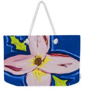 Flower Weekender Tote Bag by Melissa Dawn