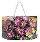 Flower Of Fall Weekender Tote Bag