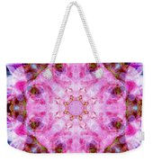 Flower Of Life Lily Mandala Weekender Tote Bag