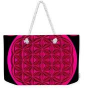 Flower Of Life - Pink Weekender Tote Bag