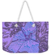 Flower Of Purple Weekender Tote Bag