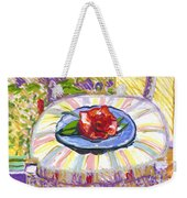 Flower On Chair Weekender Tote Bag