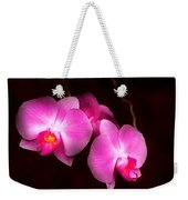 Flower - Orchid - Better In A Set Weekender Tote Bag