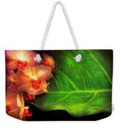 Flower - Orchid - Phalaenopsis Orchids At Rest Weekender Tote Bag