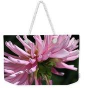 Flower-pink Dahlia-bloom Weekender Tote Bag