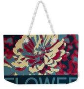 Flower Poster Weekender Tote Bag