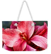 Flower Power In Pink By Diana Sainz Weekender Tote Bag