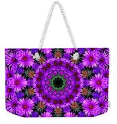 Flower Power Weekender Tote Bag by Kristie  Bonnewell