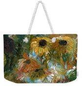 Flower Rain Weekender Tote Bag