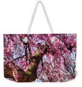 Flower - Sakura - Finally It's Spring Weekender Tote Bag by Mike Savad