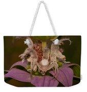 Flower Spider On Horsemint #2 Weekender Tote Bag