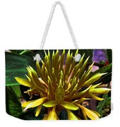 Flower - Sultry Dahlia - Luther Fine Art Weekender Tote Bag