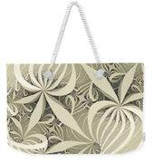 Flower Swirl Weekender Tote Bag