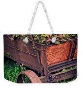 Flower Wagon Weekender Tote Bag