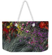 Flower Wall At The Falls Selective Color Weekender Tote Bag