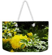 Flower - Austin Botanical Gardens -  Luther Fine Art Weekender Tote Bag