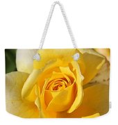 Flower-yellow Rose-delight Weekender Tote Bag