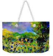 Flowered Village Weekender Tote Bag