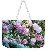Flowering Almond Weekender Tote Bag