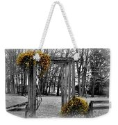 Flowering Archway Weekender Tote Bag