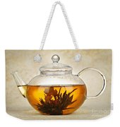 Flowering Blooming Tea Weekender Tote Bag