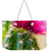 Flowering Cactus Weekender Tote Bag