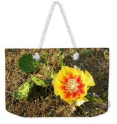 Flowering Cactus Weekender Tote Bag