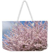Flowering Cherry Tree Weekender Tote Bag