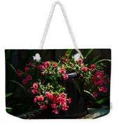 Flowering Coffee Pot Weekender Tote Bag