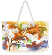 Flowering Dogwood IIi Weekender Tote Bag by Kip DeVore