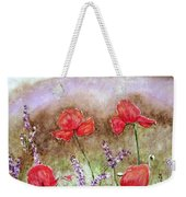 Flowering Field Weekender Tote Bag