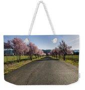 Flowering Plum Trees Weekender Tote Bag