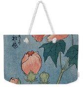 Flowering Poppies Tanzaku Weekender Tote Bag