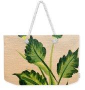 Flowering Thistle Weekender Tote Bag