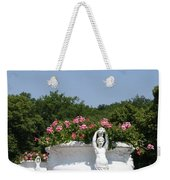 Flowerpots In A Row - Chateau Chenonceau Weekender Tote Bag