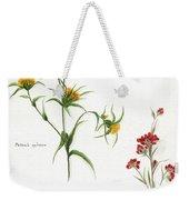 Flowers 1950 Weekender Tote Bag