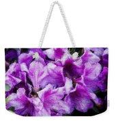 Flowers 2078 Lux Weekender Tote Bag