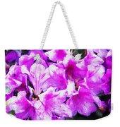 Flowers 2078 Oil Hp Weekender Tote Bag