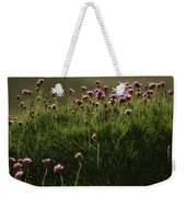Flowers Above The Beach Weekender Tote Bag