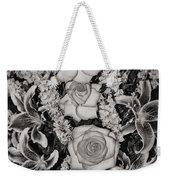 Flowers Abstract Weekender Tote Bag